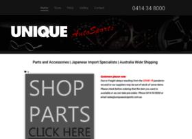 Uniqueautosports.com.au thumbnail