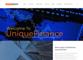 Uniquefinance.org thumbnail