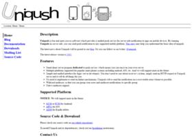Uniqush.org thumbnail
