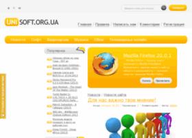 Unisoft.org.ua thumbnail