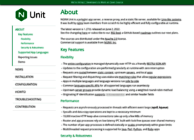 Unit.nginx.org thumbnail