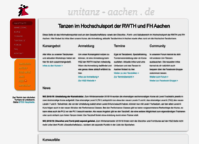 Unitanz-aachen.de thumbnail