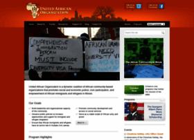 Uniteafricans.org thumbnail
