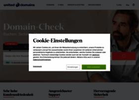 Support@united-domains.de at Website Informer