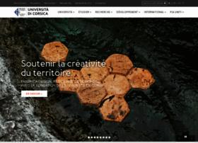 Univ-corse.fr thumbnail