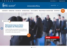 Univ-evry.fr thumbnail