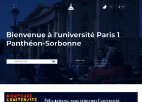 Univ-paris1.fr thumbnail
