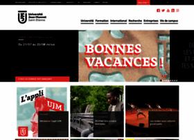 Univ-st-etienne.fr thumbnail
