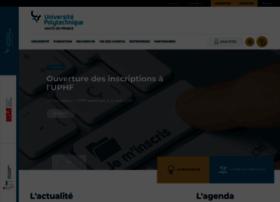 Univ-valenciennes.fr thumbnail