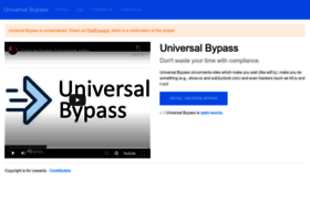Universal-bypass.org thumbnail