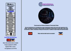 Universal-thermosensors.co.uk thumbnail