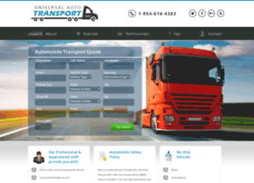 Universalautotransport.com thumbnail