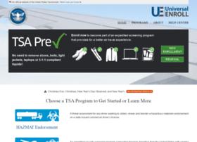 Universalenroll.tsa.dhs.gov thumbnail