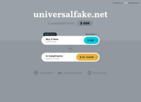 Universalfake.net thumbnail