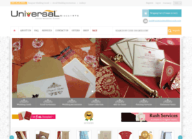 Universalweddingcards.com thumbnail