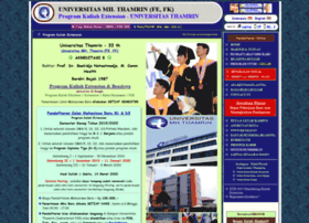 Universitasthamrin.web.id thumbnail
