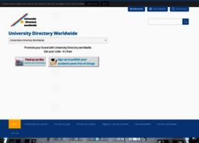 University-directory.eu thumbnail
