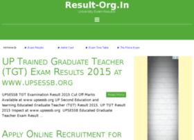 Universityexamresult.co.in thumbnail