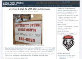 Universitystudioapartments.com thumbnail