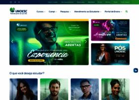 Unoesc.edu.br thumbnail