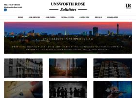 Unsworthrose.co.uk thumbnail