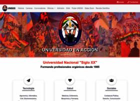 Unsxx.edu.bo thumbnail