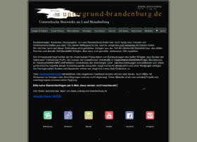 Untergrund-brandenburg.de thumbnail