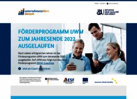 Unternehmens-wert-mensch.de thumbnail