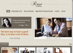 Unternehmensberatung-rose.de thumbnail