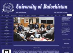 Uob.edu.pk thumbnail