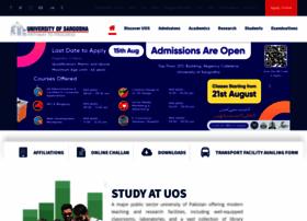 Uos.edu.pk thumbnail