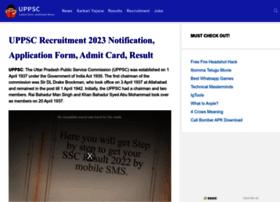 Uppsc.org.in thumbnail