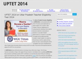 Uptet2014.in thumbnail