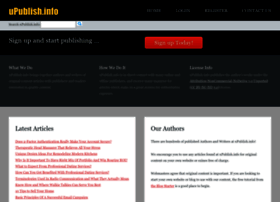 Upublish.info thumbnail