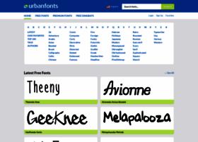 Urbanfonts.com thumbnail