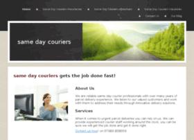 Urgentsameday-couriers.co.uk thumbnail