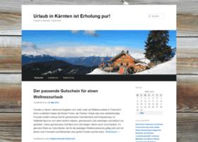 Urlaub-in-kaernten-oesterreich.de thumbnail