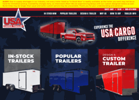 Usacargotrailersales.com thumbnail