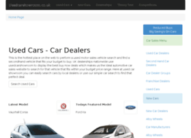 Usedcarshowroom.co.uk thumbnail