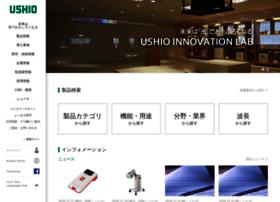 Ushio.co.jp thumbnail