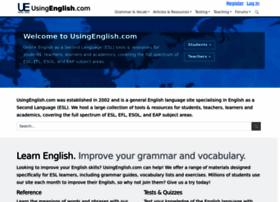 Usingenglish.com thumbnail