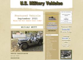 Usmilitaryvehicles.com thumbnail
