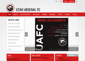 Utaharsenalfc.org thumbnail