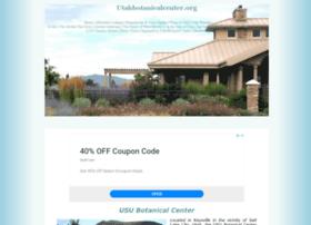 Utahbotanicalcenter.org thumbnail