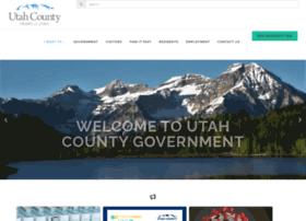 Utahcounty.gov thumbnail
