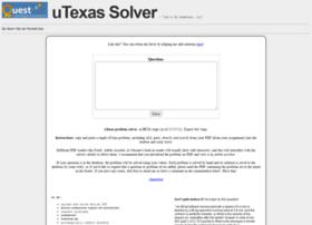 Utsolver.appspot.com thumbnail