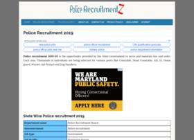 Uttarakhand.policerecruitments.in thumbnail