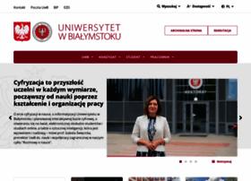 Uwb.edu.pl thumbnail