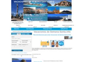 Vacacionesdesemanasanta.info thumbnail
