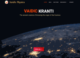 Vaidicphysics.org thumbnail